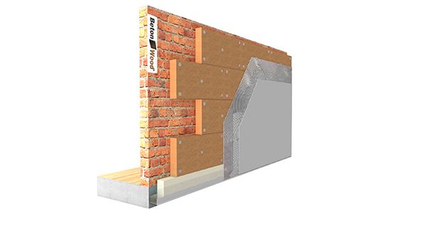 Pareti Esterne In Legno : Beton wood sistemi per cappotto esterno