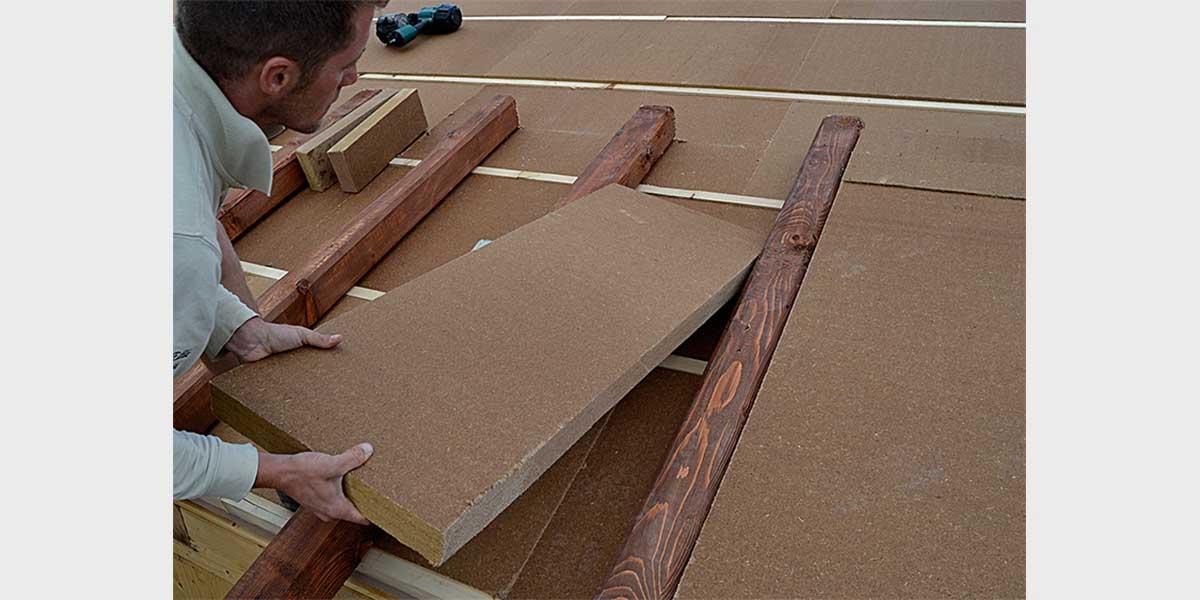 Beton wood - Pannelli isolanti per sottotetto ...